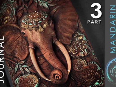 ELEPHANT JOURNAL TUTORIAL Part 3 - polymer clay by Mandarin Duck