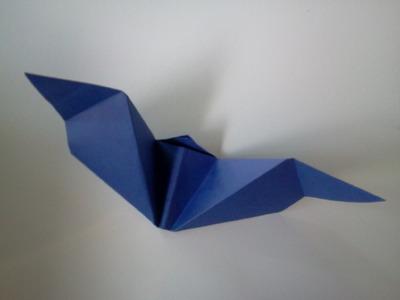 Halloween Origami bat - Murcielago de papel