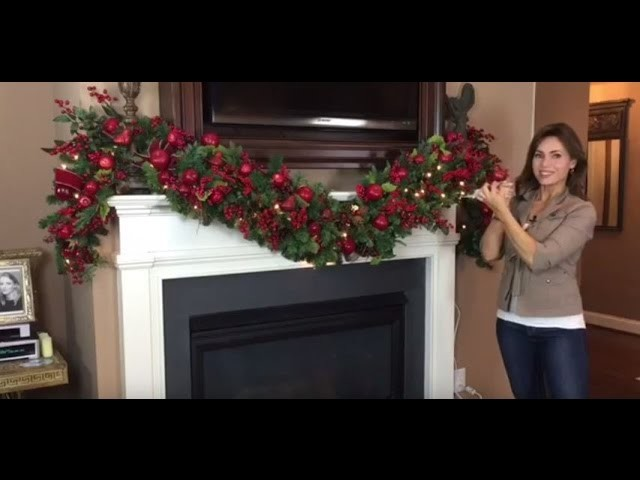 How To Create a Spectacular Christmas Garland for Your Mantel (Full Length)