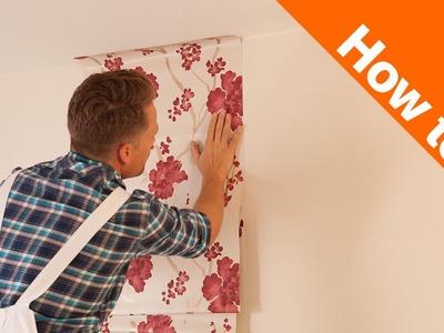 How to Hang Wallpaper Part 2: Hanging