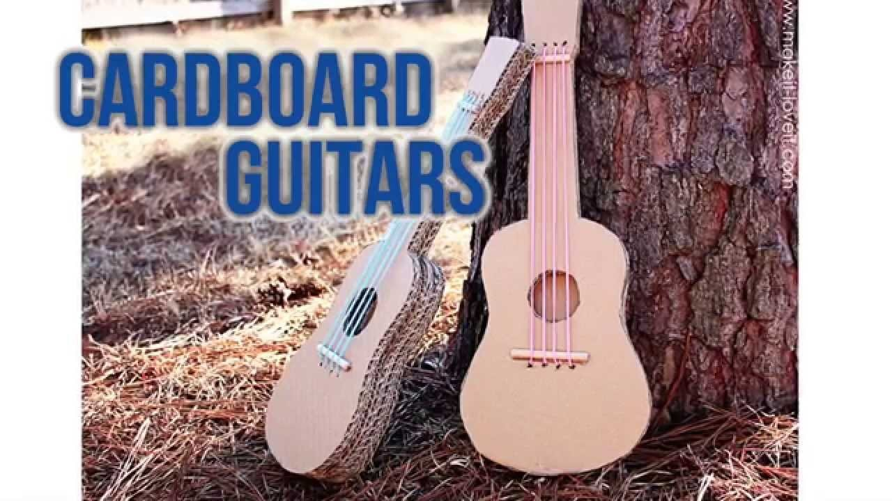 How to make a DIY Cardboard Guitar