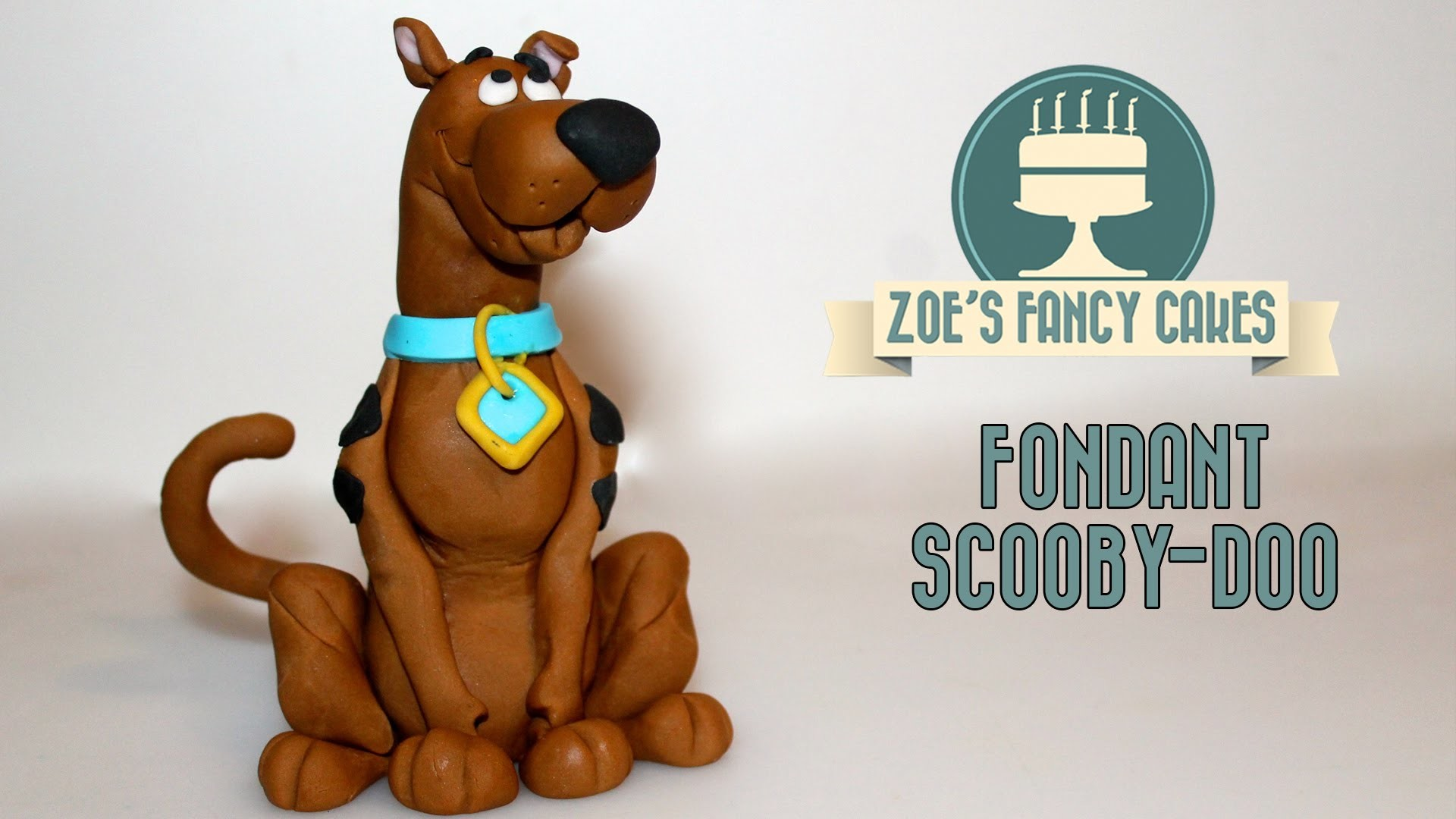 How to make a fondant Scooby-Doo How to Cake Decorating Tutorial