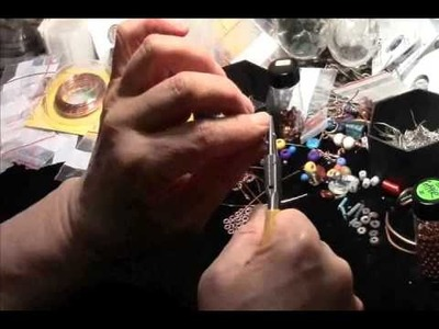 How to Make a Loop for 20 Gauge Jewelry Wire with E.J. Gold