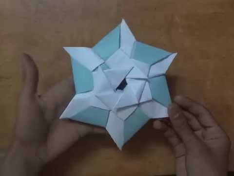 How to make a origami Super Ninja Star