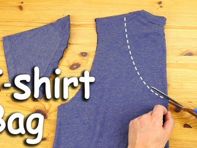 How to Make a T-Shirt Bag
