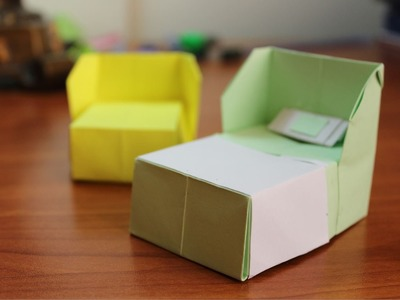 How to make an origami Bed!