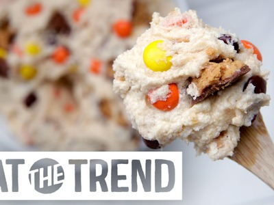 How to Make Reese's Peanut Butter Cup Cookie Dough | Eat the Trend