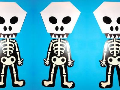 Ideas para Halloween - Calavera en Origami | JuanTu3