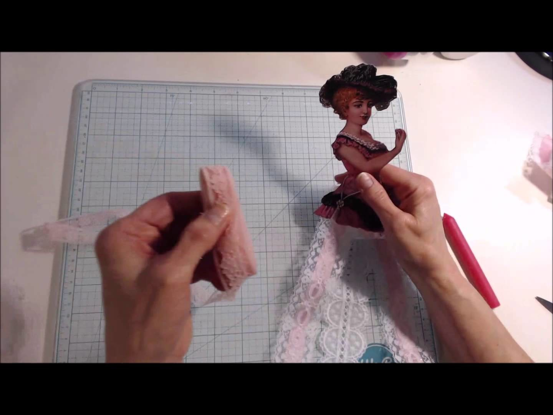 Lace.Ribbon Doll Tutorial