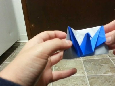 Origami Bird Of Peace Pop-Up Card, Designed By Jeremy Shafer - Not A Tutorial