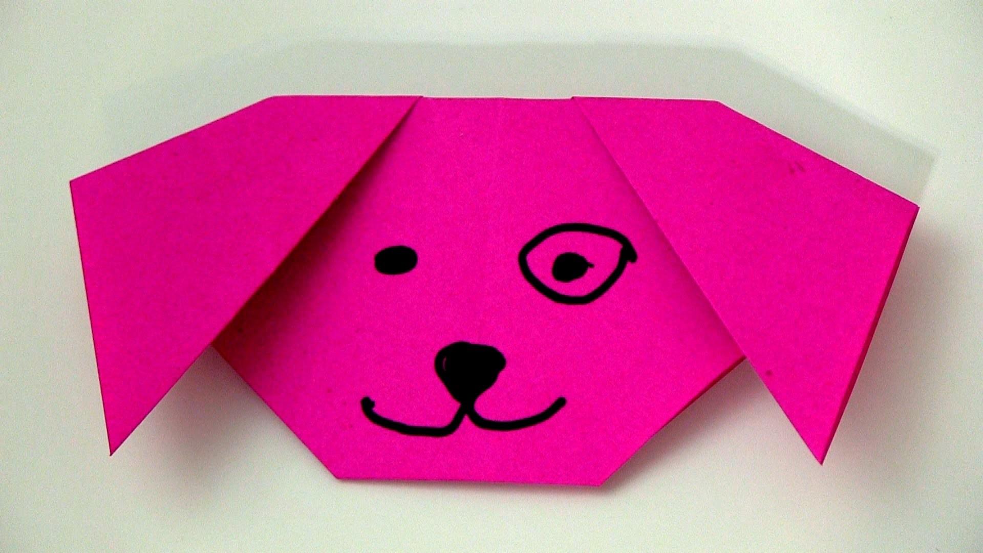Origami - Dog Face