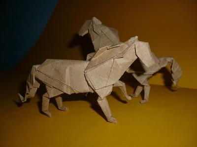 Origami Horse Instructions (J. Aníbal Voyer)