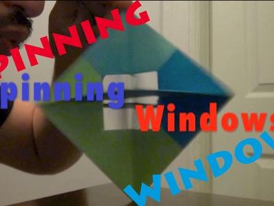 Origami Spinning Windows - Rob's World