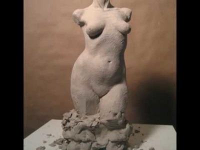 SCULPTING THE FEMALE TORSO by PETER RUBINO