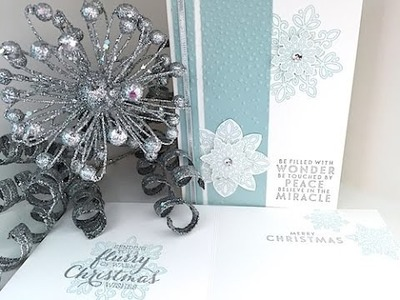 Simply Simple FLASH CARD 2.0 - Flurry of Wishes Christmas Card by Connie Stewart