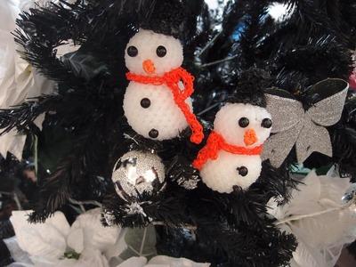 Snowman Rainbow Loom Bands Amigurumi Loomigurumi Hook Only Tutorial