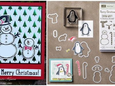 Stampin' Up! Snowmen Christmas Card