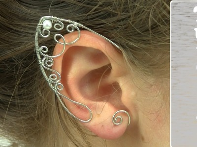 Wire Wrapped Elf Ears Tutorial.Demo