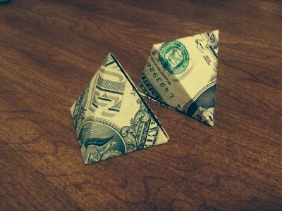 ASMR How To Make A Money Origami Pyramid