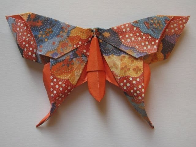 Butterfly origami  How to make paper origami butterfly