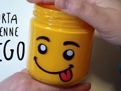 Come fare un Porta Penne LEGO - Idea FAI DA TE per la Festa del PAPà by ART Tv