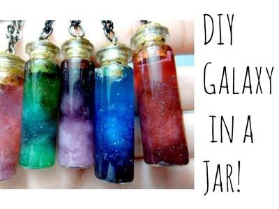 ★DIY galaxy in a Jar!