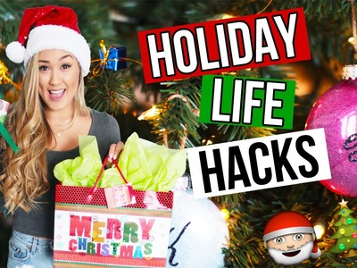 DIY HOLIDAY LIFE HACKS: Christmas Gifts, Snacks & Decor | LaurDIY