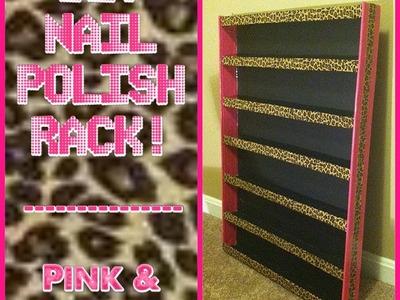 DIY Nail Polish Rack!
