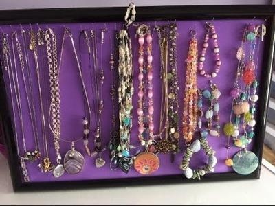 DIY Necklace.bracelet holder