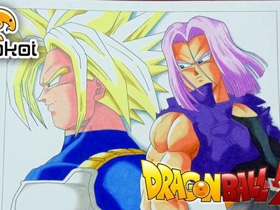 Drawing Future Trunks - Dibujando a Mirai Trunks (Dragon Ball Z)
