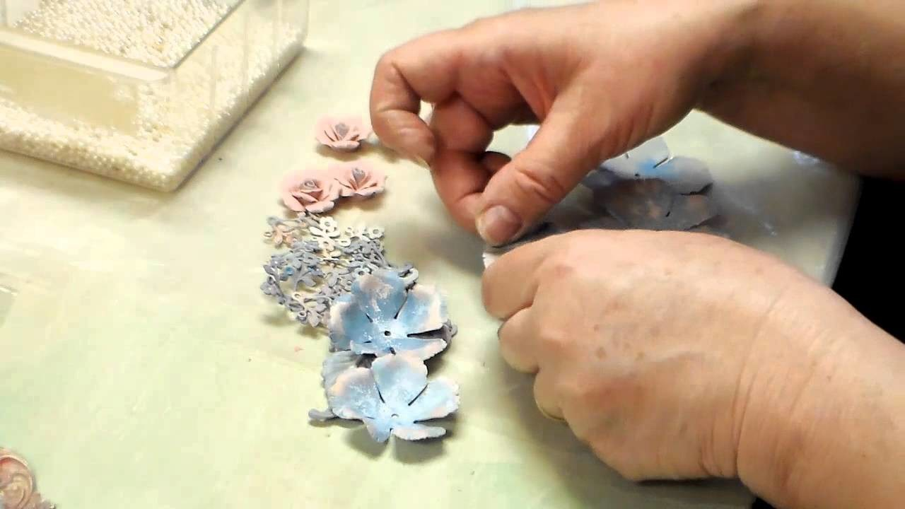 Floral Assemblage Jewelry with Brass Stampings from B'sue Boutiques