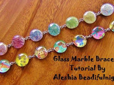 Glass Marble Bracelet Tutorial