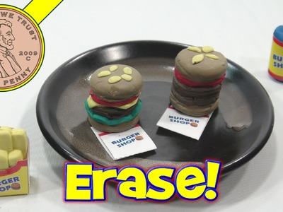 Hamburger, French Fries & Soda DIY Eraser Kit - They Work!