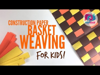How To Basket Weave With Construction Paper