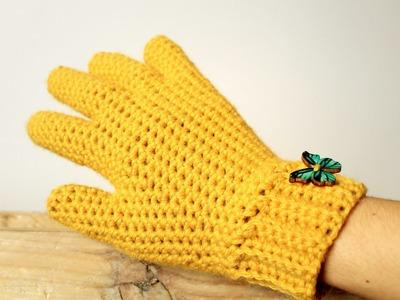 How to Crochet Gloves