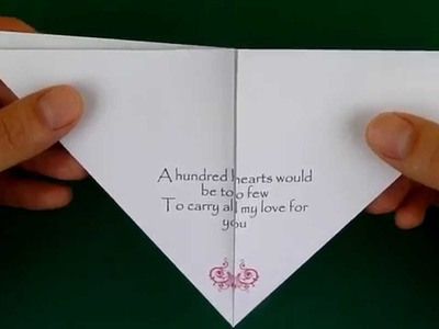 How to Fold an Origami Heart - Troubleshooting