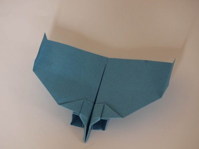 How to make a cool paper plane origami: instruction| Twin-Engine