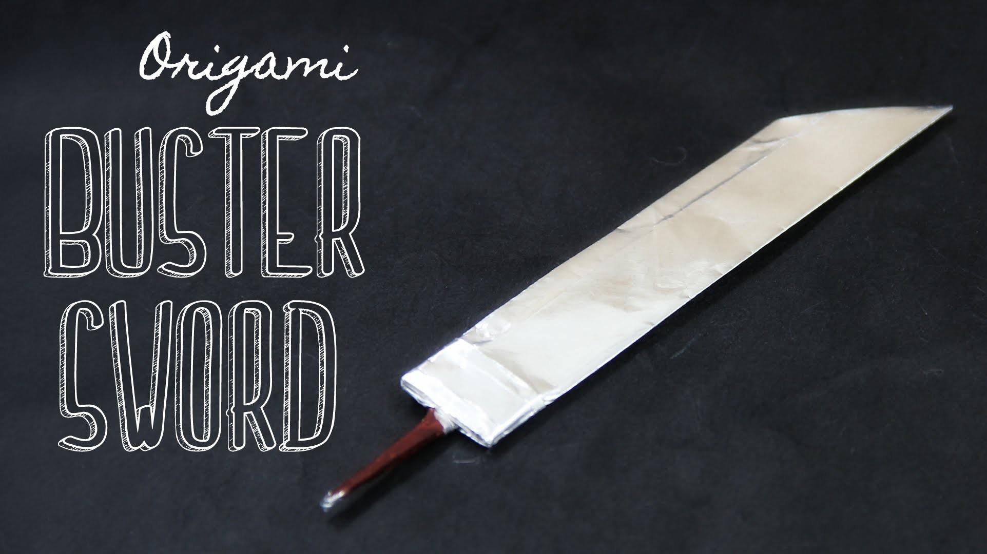 How to make an origami Buster Sword (Tadashi Mori)