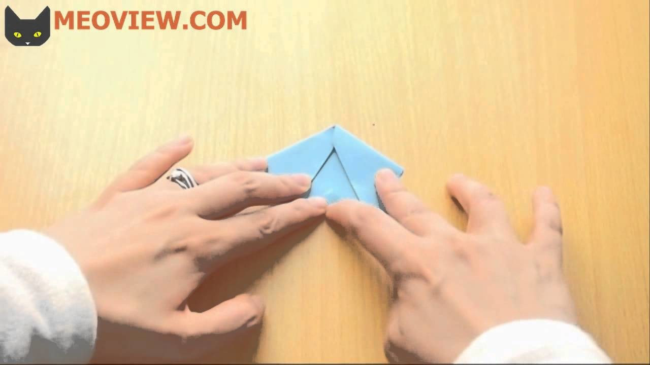 How to Make an Origami Cat Face  - Napkins Fold Instructions