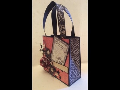 How to Make and Alter a Mini Gift Bag