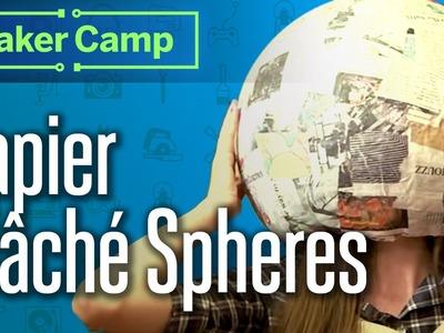 How to Make: Papier Mâché Spheres