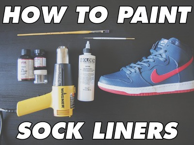 How to paint sock liners using GAC-900
