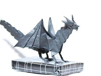Origami Devil Dragon (Stop-motion demo) (Henry Phạm)