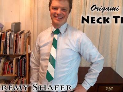 Origami Neck Tie