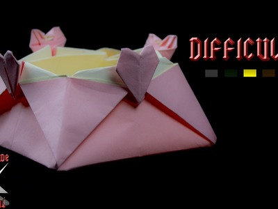 [ORIGAMI TUTORIAL] Heart Box (Star Box Variant - Jo Nakashima) || Boxes.Easy.Valentine's Day