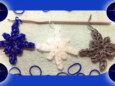 Rainbow Loom Band Charm Design: Star of Bethlehem | Tutorial