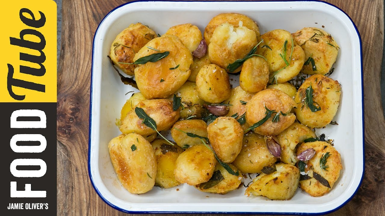 Roast Potatoes Three Ways | Jamie Oliver
