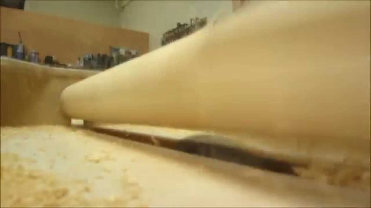 Table Saw - Spiral Legs!