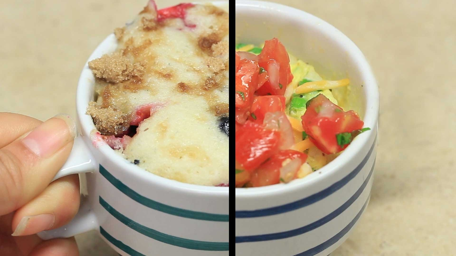 3 Easy Breakfasts You Can Make In A Mug