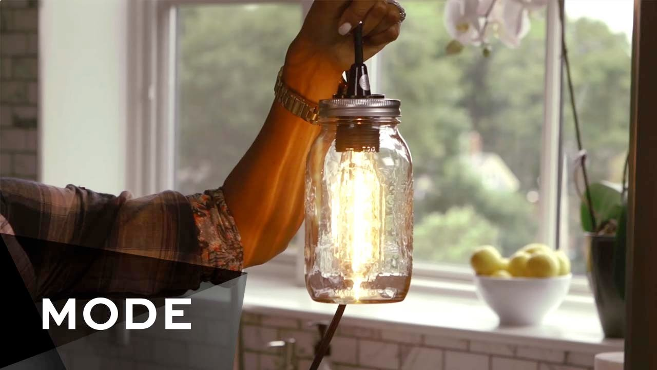 4 Easy DIY Pendant Lights | Glam It Yourself